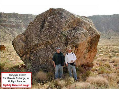 Meteor crater floor tour for Large rocks for sale near me