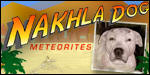 Nakhla Dog Meteorites For Sale