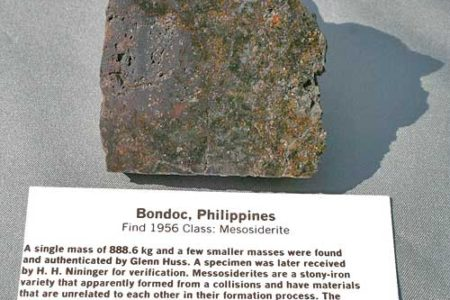 Nininger Moment #27 The Bondoc Philippine Meteorite Recovery Story