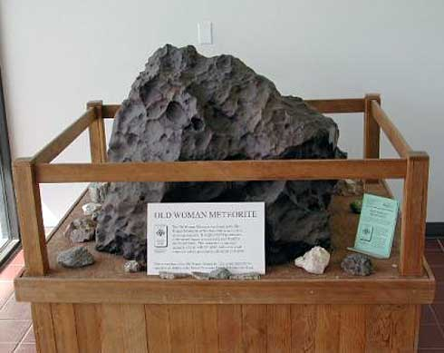 The Old Woman Meteorite Finds a Home