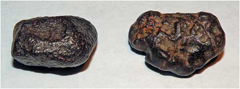 Can you identify which rock is a meteorite?