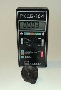 Meteorite Geiger Counter