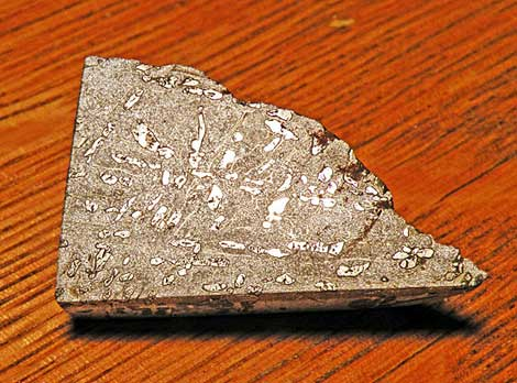 Canyon Diablo Meteorite Heat Damaged