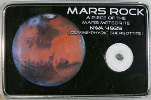 Mars Meteorite Box