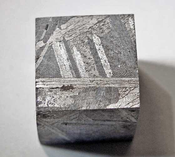 Gibeon Meteorite Cube