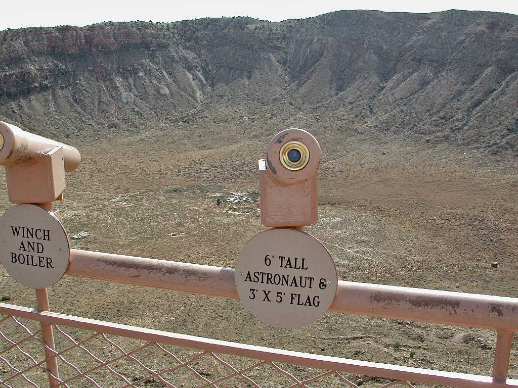 Meteor Crater Arizona Map.Meteor Crater Arizona World S Best Meteorite Impact Crater